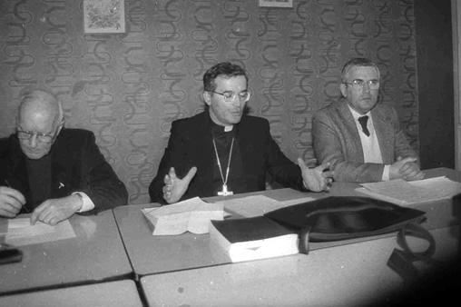 Session du Conseil presbytéral avec Monseigneur Séguy