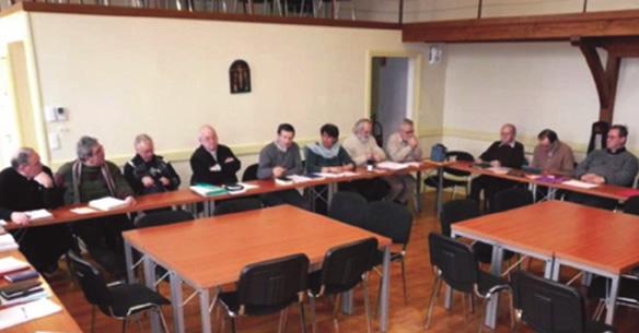 Session du Conseil presbytéral en 2012